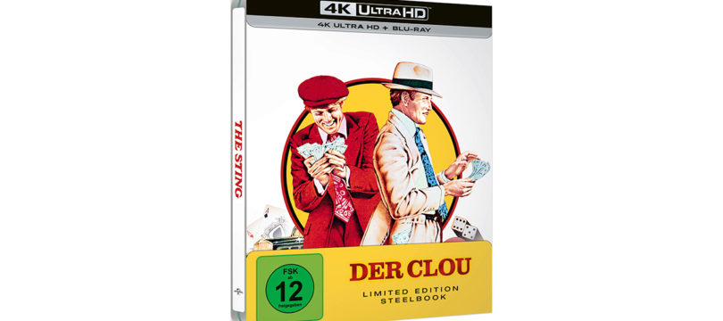"""Der Clou"": 4K-Blu-ray in limitierter Steelbook-Edition"