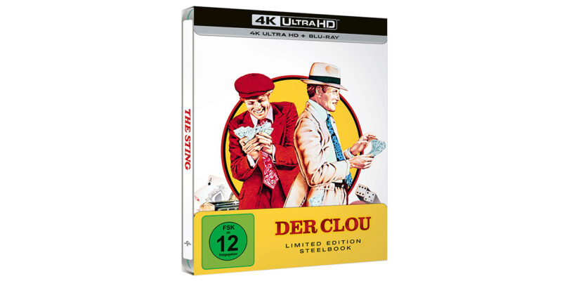 """Der Clou"": 4K-Blu-ray in limitierter Steelbook-Edition"