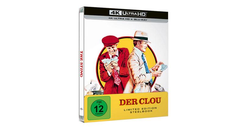 """Der Clou"": 4K-Blu-ray in limitierter Steelbook-Edition (Update)"