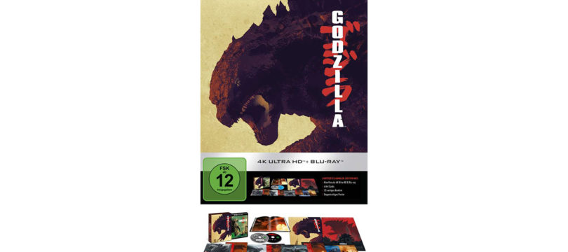 """Godzilla"" (2014) auf 4K-Blu-ray als Ultimate Collector's Edition (Update)"