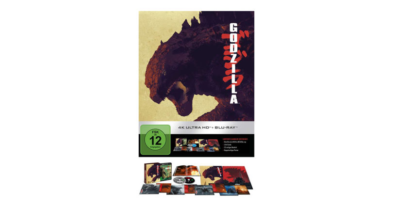 """Godzilla"" (2014) auf 4K-Blu-ray als Ultimate Collector's Edition (Update)"