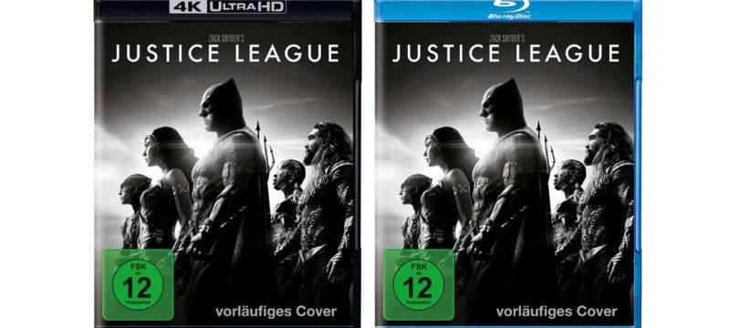 """""""Zack Snyder's Justice League"""": 4K-Blu-ray und Blu-ray mit deutschem Atmos-Ton"""