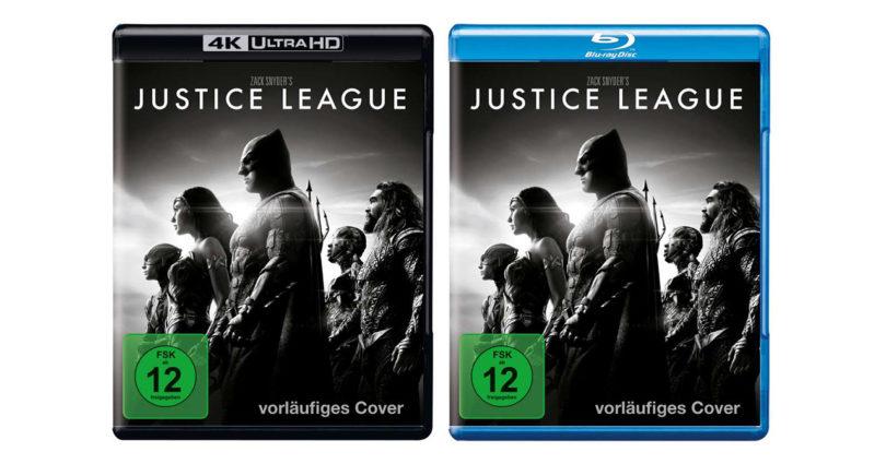 """""""Zack Snyder's Justice League"""": 4K-Blu-ray und Blu-ray mit deutschem Atmos-Ton (3. Update)"""