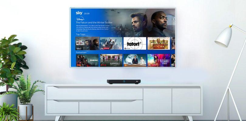 Disney+ ab sofort auf Sky Q und künftig auch über den Sky Ticket TV Stick verfügbar