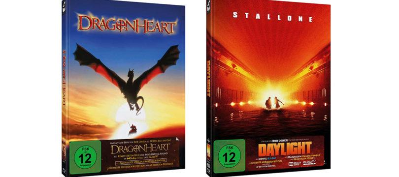 """""""Dragonheart"""" und """"Daylight"""" mit deutschem und englischem Ton in Dolby Atmos und Auro-3D (Update)"""