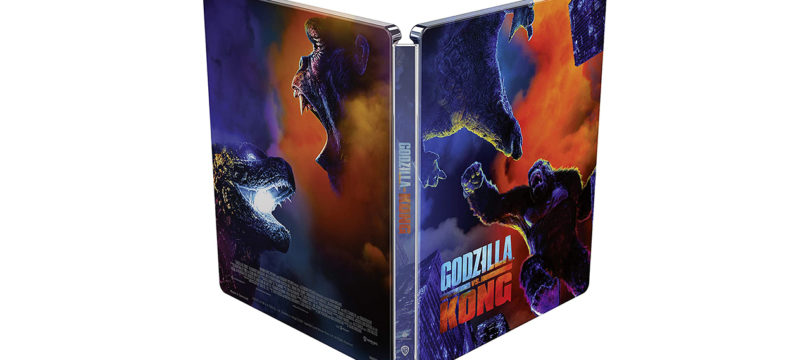 """Godzilla vs. Kong"": Amazon UK bietet 4K-Steelbook an"