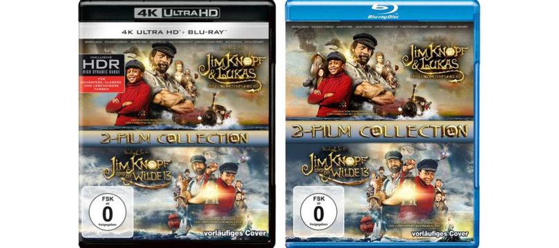 """""""Jim Knopf""""-Filme auch im Doppelpack auf 4K-Blu-ray und Blu-ray"""