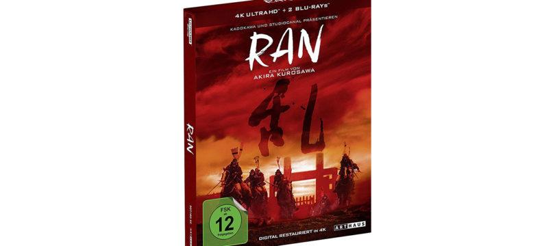 """""""Ran"""" erscheint als Special Edition auf UHD-Blu-ray"""