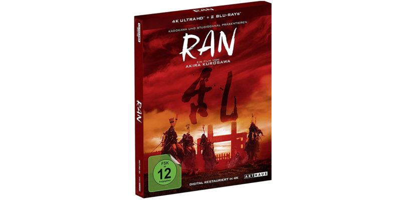 """""""Ran"""" erscheint als Special Edition auf UHD-Blu-ray (Update)"""