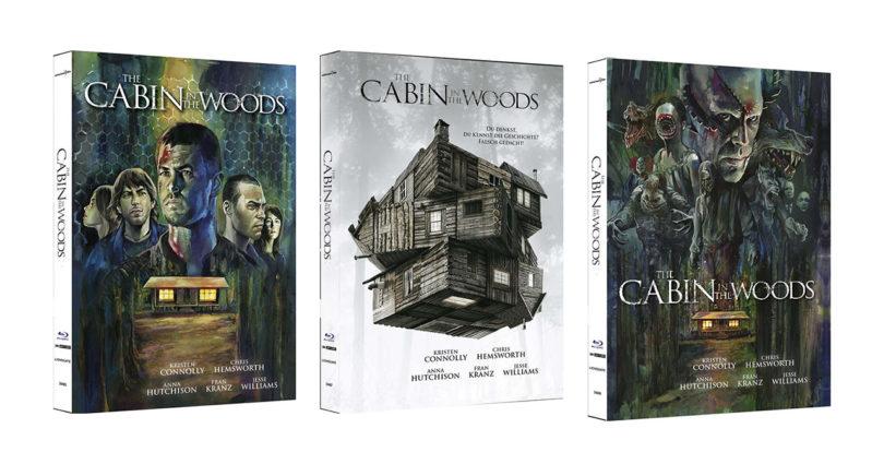 """The Cabin In The Woods"": UHD-Neuauflage mit drei Mediabook-Editionen"