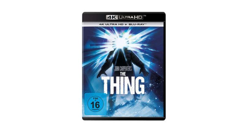 """""""Das Ding aus einer anderen Welt"""" erscheint auf 4K-Blu-ray – mit deutschem DTS:X-Ton (2. Update)"""