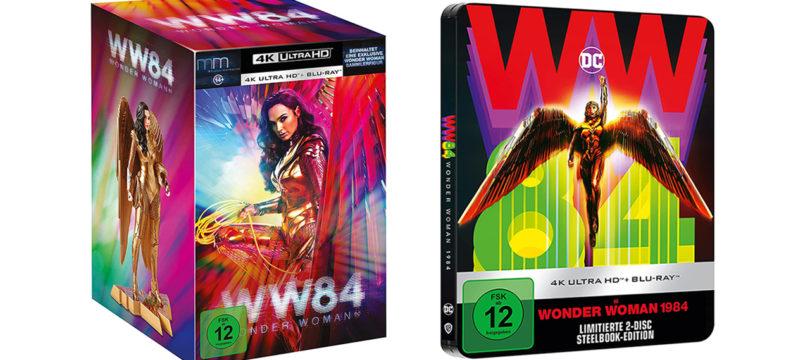 """""""Wonder Woman 1984"""": 4K-Blu-ray als Steelbook und Ultimate Edition bei Amazon vorbestellbar (Update)"""
