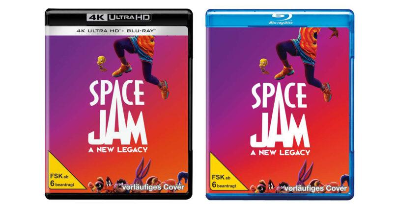 """""""Space Jam"""": Fortsetzung erscheint auf Blu-ray und 4K-Blu-ray (Update)"""