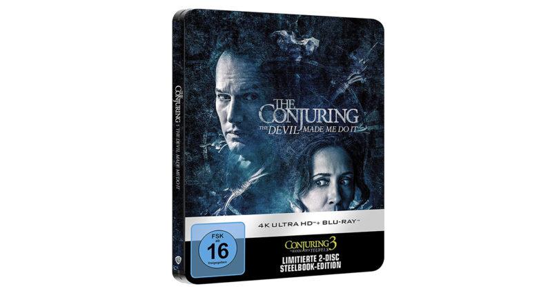 """""""Conjuring 3"""": Amazon hat Vorverkauf des 4K-Steelbooks gestartet (Update)"""