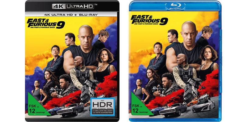 """""""Fast & Furious 9"""" bereits auf 4K-Blu-ray und Blu-ray vorbestellbar (Update)"""