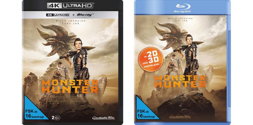 """""""Monster Hunter"""" erscheint auf 4K-Blu-ray, 3D-Blu-ray und Blu-ray Disc (Update)"""
