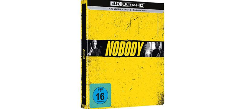 """Nobody"": Amazon bietet 4K-Blu-ray in exklusiver Steelbook-Edition an"