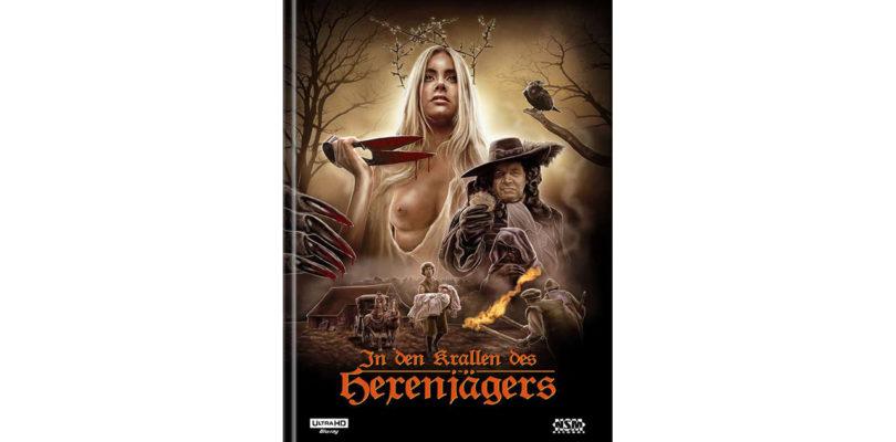 """""""In den Krallen des Hexenjägers"""" erscheint nochmals auf 4K-Blu-ray"""