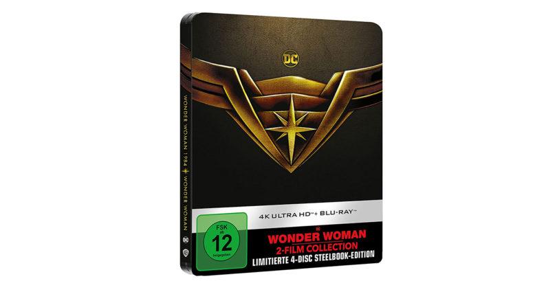 Wonder Woman & Wonder Woman 1984 im Doppelpack als UHD-Steelbook