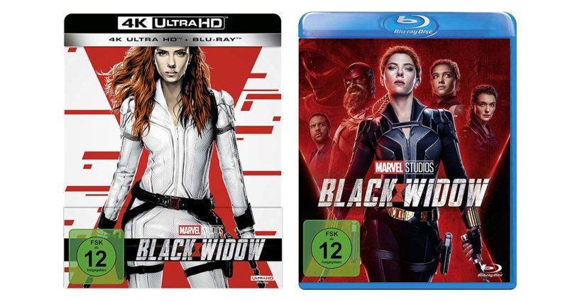 """""""Black Widow"""" erscheint auf Blu-ray Disc und als 4K-Blu-ray-Steelbook"""