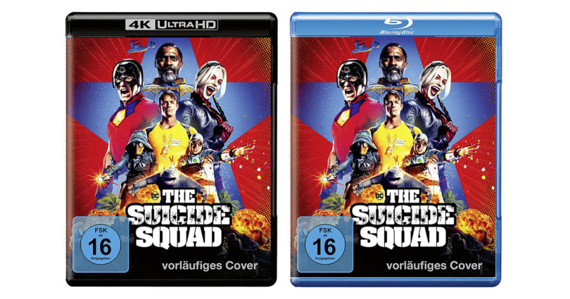 """""""The Suicide Squad"""" auf 4K-Blu-ray und Blu-ray Disc im Vorverkauf (Update)"""