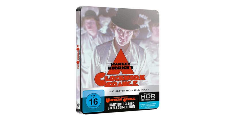 """""""Uhrwerk Orange"""": 4K-Blu-ray als limitierte Editionen im Steelbook (Update)"""