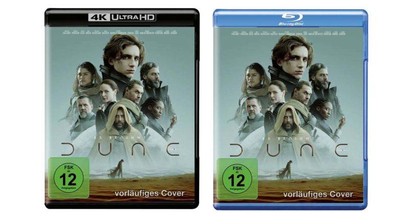 """""""Dune"""" (2021) auf Blu-ray und 4K-Blu-ray vorbestellbar"""