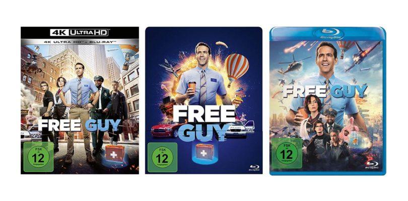 """""""Free Guy"""" auf UHD-Blu-ray, Steelbook-Blu-ray und Blu-ray Disc vorbestellbar (Update)"""