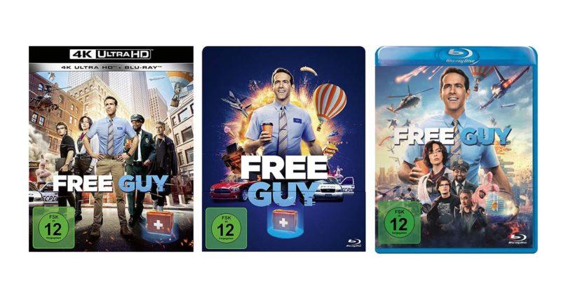 """Free Guy"" auf UHD-Blu-ray, Steelbook-Blu-ray und Blu-ray Disc vorbestellbar"