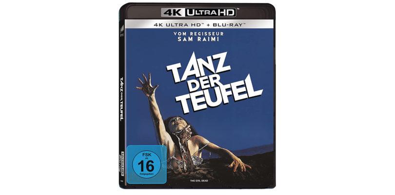 """""""Tanz der Teufel"""" (Uncut): 4K-Blu-ray bietet Sprachen in DTS-HD Master Audio 5.1"""