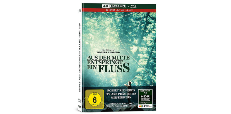 """""""Aus der Mitte entspringt ein Fluss"""" als Collector's Edition auf Ultra HD Blu-ray"""