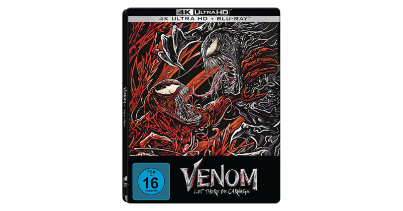 """""""Venom: Let there be Carnage"""": Exklusives UHD-Steelbook bei Amazon"""